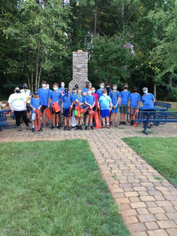 Beatty's Ford Park Troop 83 Cleanup