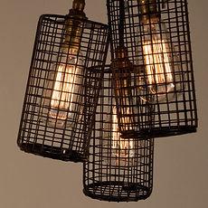 Black Caged Pendants