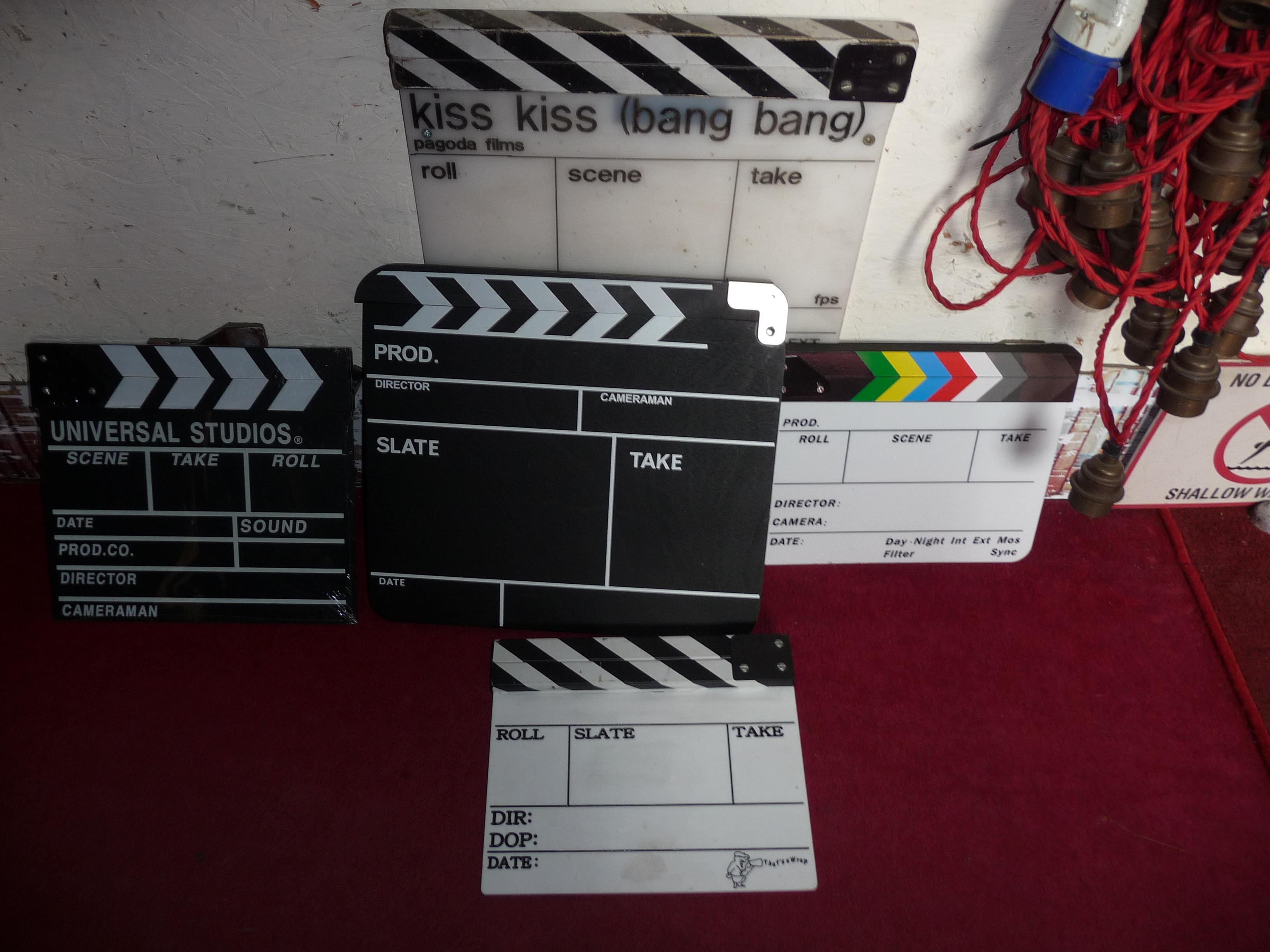 Clapper Boards