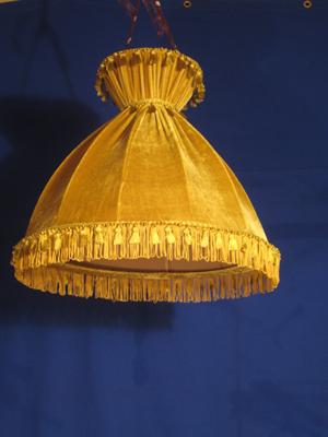 Velvet Lampshade 2