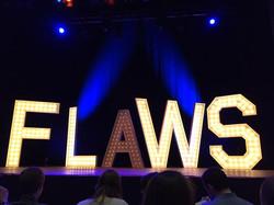 Flaws letter light
