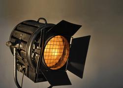 Unique Black 2k Film Light