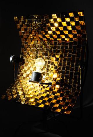 Gold Mega Weave