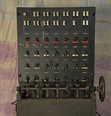Buxton Lighting Board