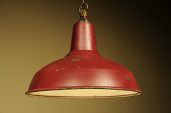 Red Coolie Shade