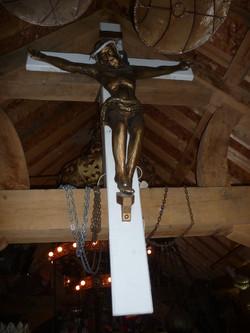 Jesus on cross Neon