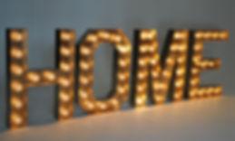 Letter Lights 600mm High