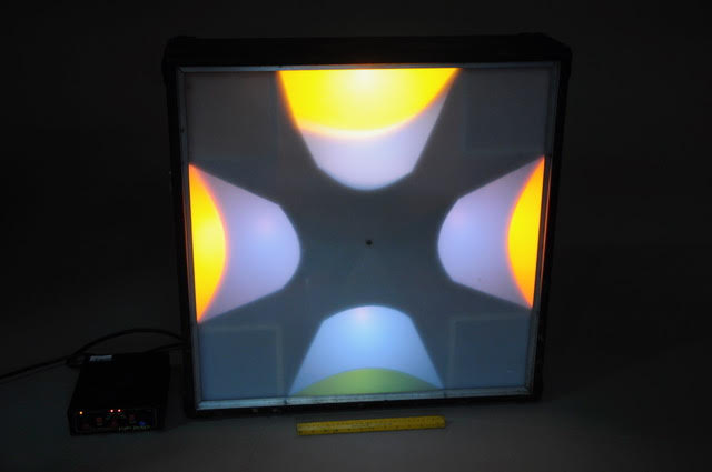 Square disco light