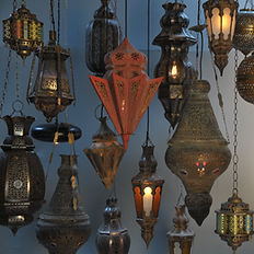 Moroccan/Turkish Pendants