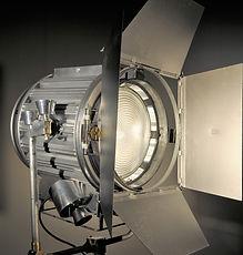 Unique Silver 2K Film Light