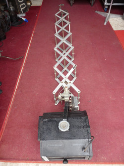 Pantograph extended