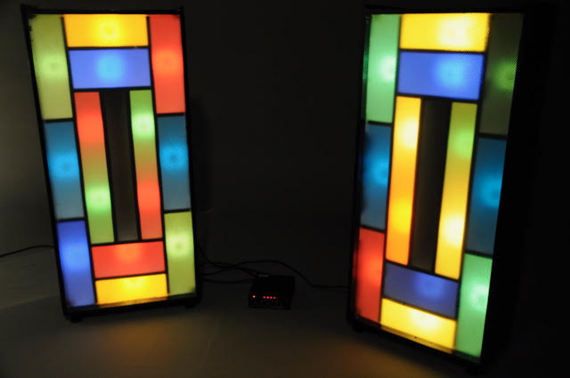 rectangular disco lights