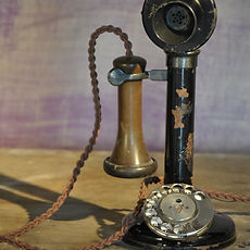 Period Rotary Dial Phone