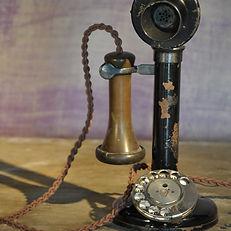 Period Rotary Dial Phone