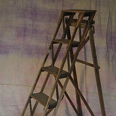 Dark Wooden Ladder