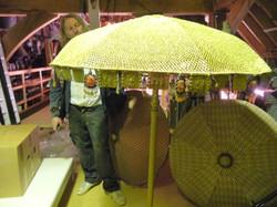 Moroccan parasol 2