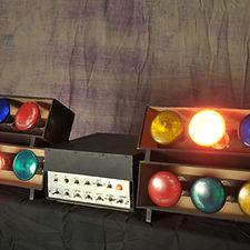 Amateur 70's Disco Lights