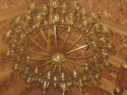 gold chandeleir