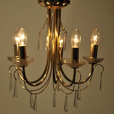 Classic Gold Chandelier