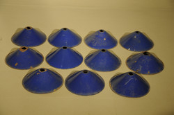 Small Blue Coolie Shade