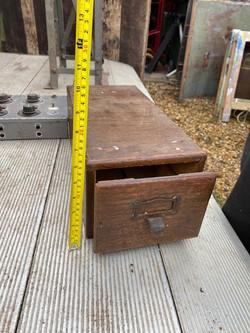 Period wooden filx box
