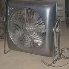 Fan Floor Standing Chrome JPG