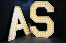 8ft Marquee Letter A & S