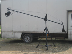 Mic Boom on Heavy Collapsible Period Stand