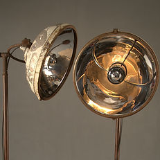 Vintage White Medical Lights