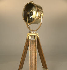 Polished Brass Searchlight