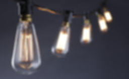 Festoon with long filament Bulb