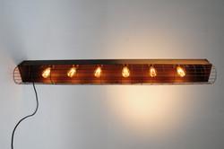 TREAD Caged Vintage Trough Light