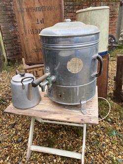 period tea urn and tea  pot