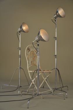 Photographic Lights on Stand