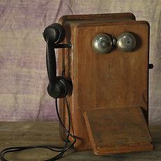 Bakelite Telephone wall mounted 1930's