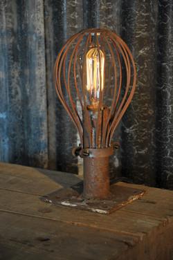 Caged Balloon Lamp