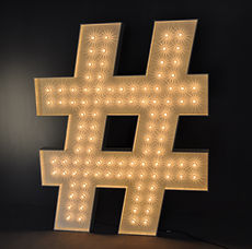 Marquee Hashtag