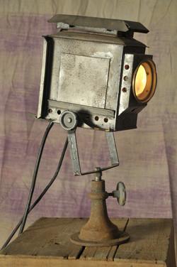 Small Square Black Lime Light Repro
