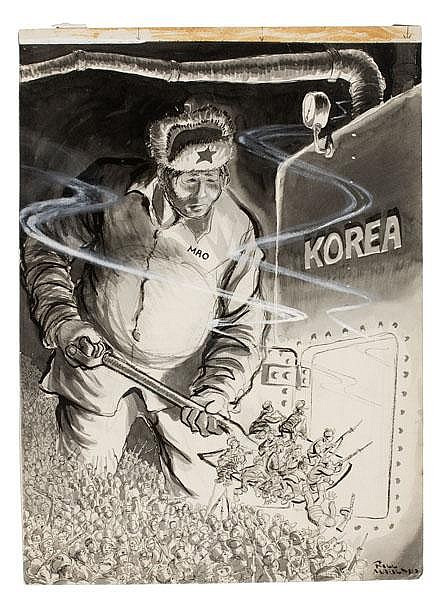 Bill Mauldin in Korea