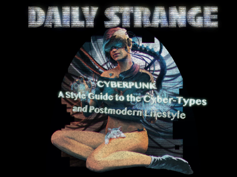 Cyberpunk: A Style Guide to the Cyber-Types and Postmodern lifestyle