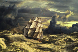 Fearless Friday: Charles Haskell and the history of madness at sea (A Real Life Ghost Story)