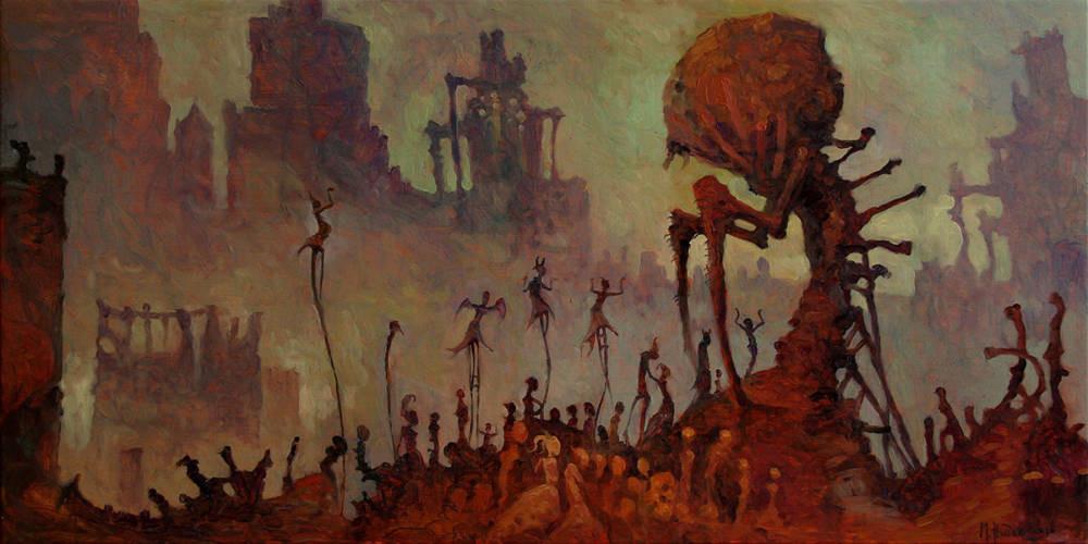 GÖTZENDIENST (IDOLATRY) BY MICHAEL HUTTER