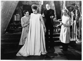 Scene Of Bride Of Frankenstein