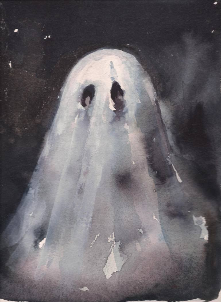 Saatchi Art Ghost Painting by Mary Hayes