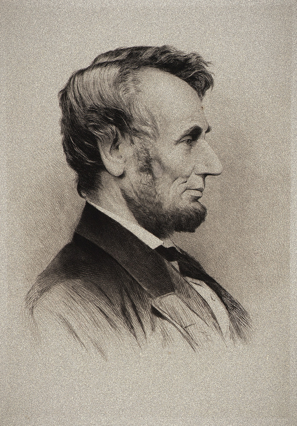 Thomas Johnson, Abraham Lincoln, after 1864, etching, Smithsonian American Art Museum, Gift of Olin Dows, 1979.136.92