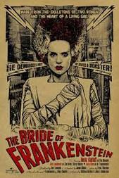Bride Of Frankenstein Alternate Poster