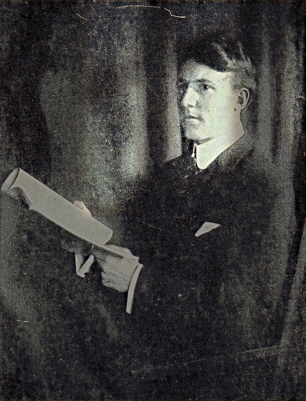 Hereward Hubert Lavington Carrington (October 17, 1880 - December 26, 1958) was a Jersey-born American parapsychologist and spiritualist, one of the leading figures in the field of psychical research during his lifetime.