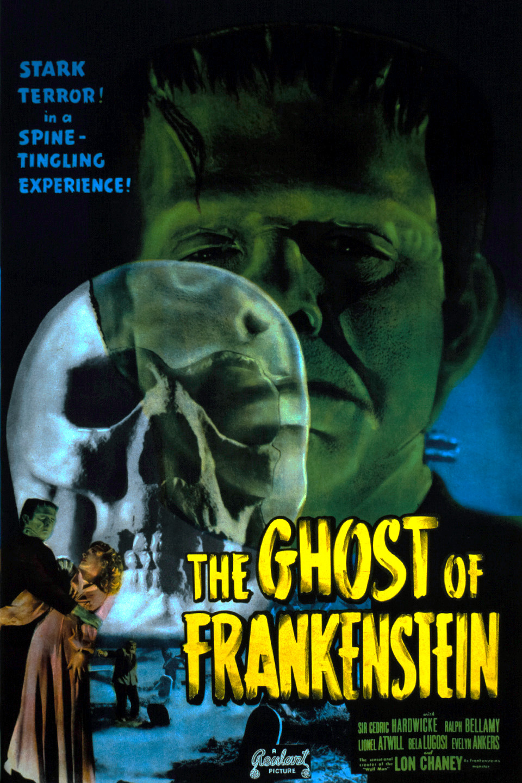 Ghost Of Frankenstein Poster