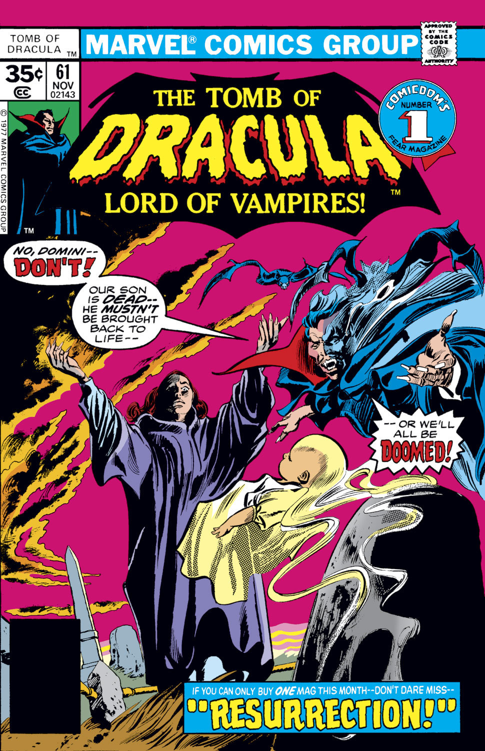 Tomb Of Dracula #61 (Marvel, 1977)