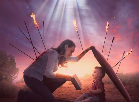 In A World of Broken Mother's Day by Ron Klauber